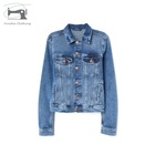 Denim Jackets Denim OEM Wholesale Custom High Quality Denim Plain Jean Jackets