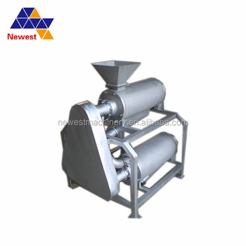 304 Stainless steel mango pulper apple pear carrot aloe cactus pulping machine