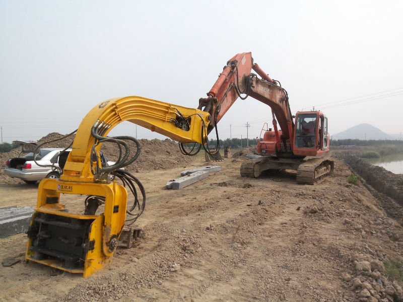 post driver hydraulic pile drive analyser portable hydraulic drilling machine
