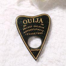 10 шт., 42*60 мм, подвески ouijia Planchette с плоской задней поверхностью, кабошоны из смолы, блестящие аксессуары для ожерелий, подвесок «сделай сам»(Китай)