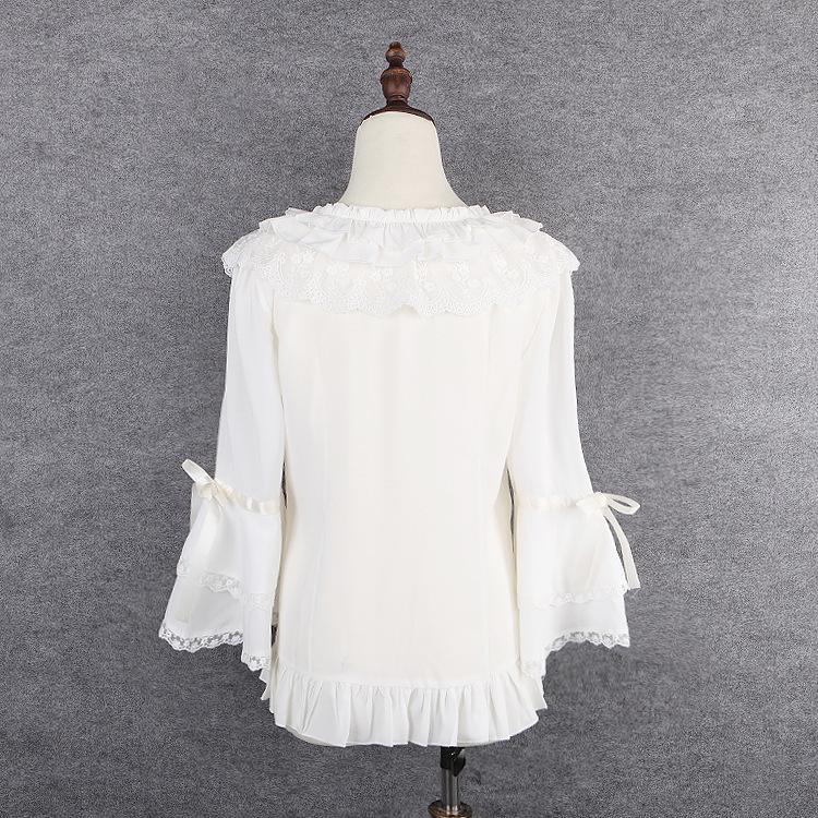 Beautiful White Blouses Baggage Clothing
