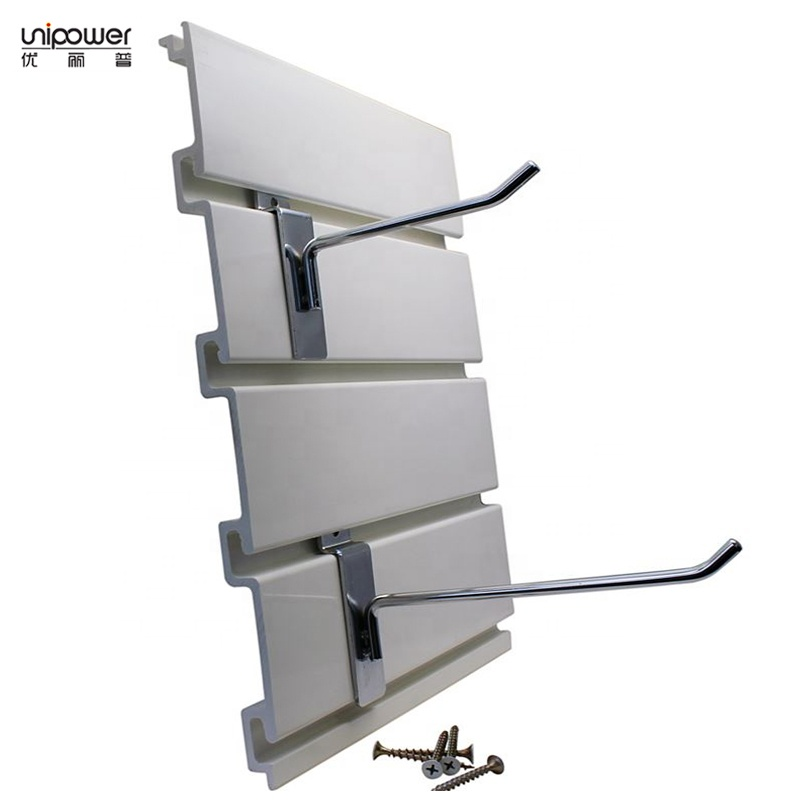 Uni Grey Garage Slat Wall Storage System Pvc Panels Slatwall And Accessories Organization Product On Alibaba