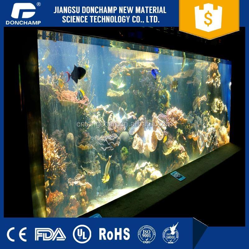 Unique Large Acrylic Aquarium /fish Farming Tank Wholesales Manufacturer
