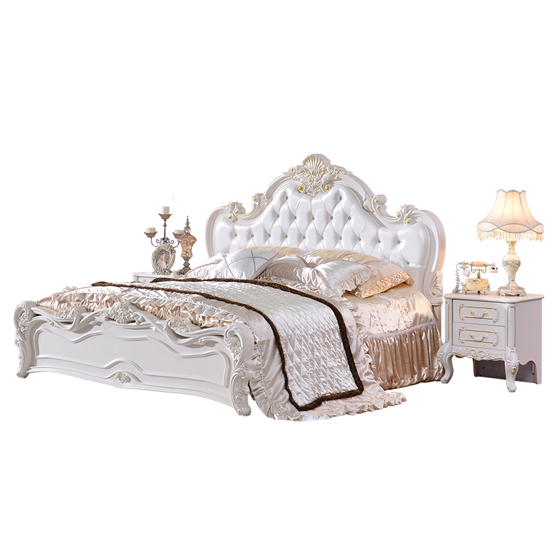 Very Cheap Price Antique White Bedroom Furniture Set Buy Divan Bed Design White Leather Bed Cream White Leather Bed Product On Alibaba Com