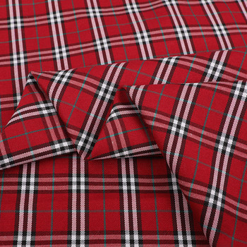 China textile supplier 100% cotton/cvc/tc check/yarn dyed flannel fabric