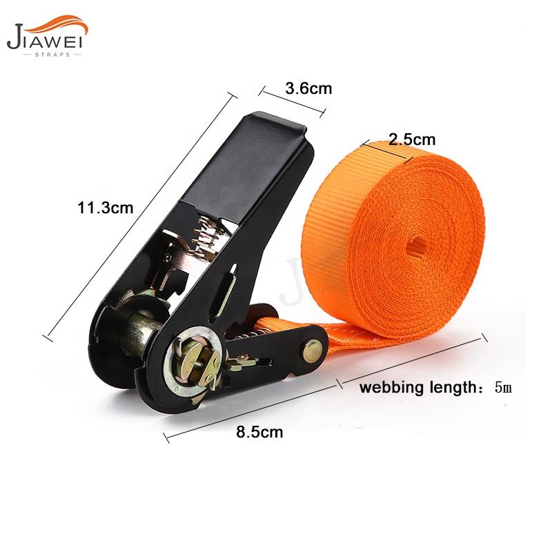 Zurrgurte 1 inch 25mm 5m spanngurt Endless Ratchet Strap Lashing Strap Belt Ratchet tie down with no hook