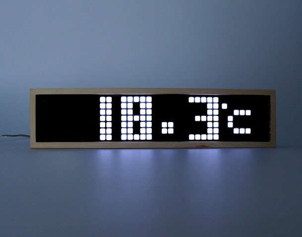 HOT SALE ! Remote Control Large Digital LED Wall Clock