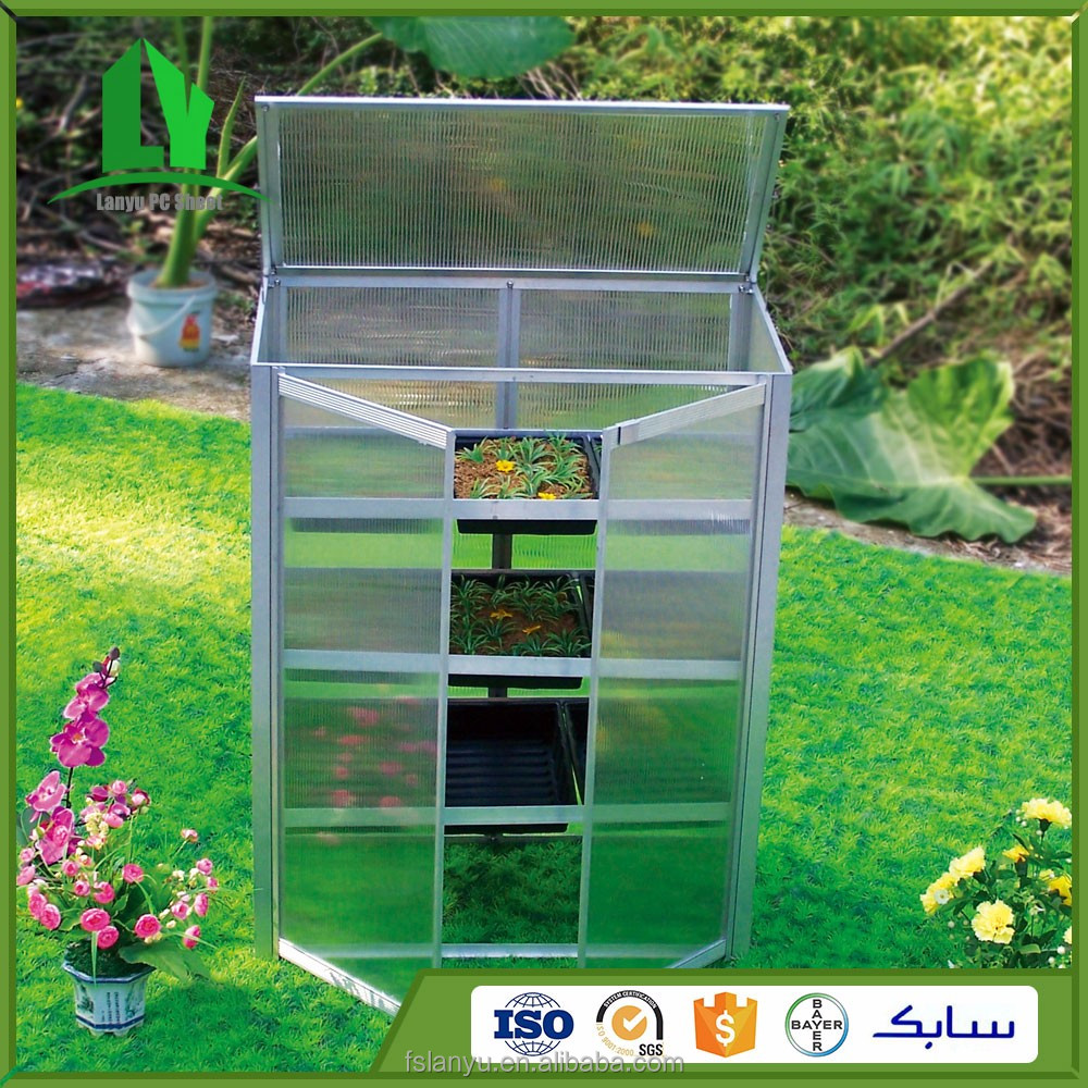 Agriculture polycarbonate greenhouse kits for sale