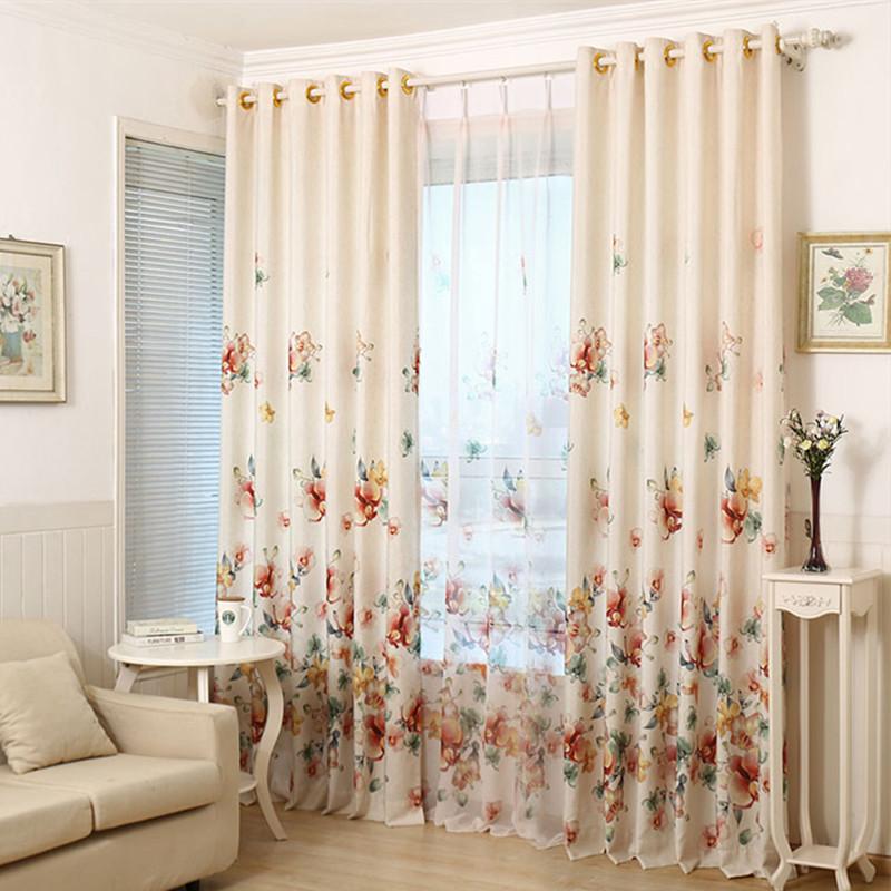 Kitchen Curtain Fabric: 2016 Printed Shade Window Blackout Curtain Fabric Modern