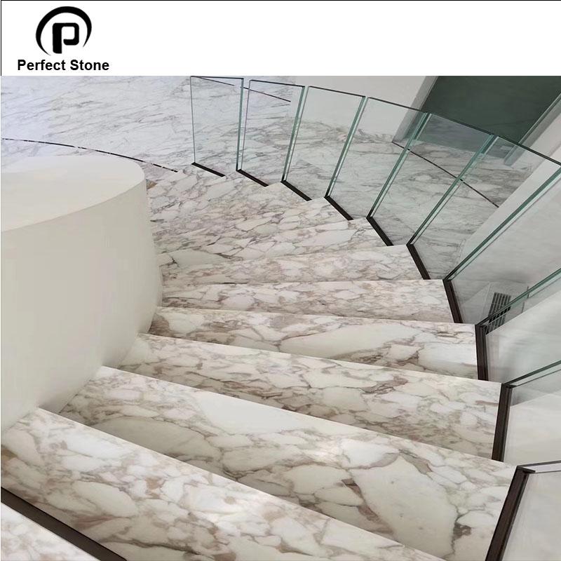 Passos De Escada De Marmore Para Preco Calacata Marmore Escadas E Granito Buy Piso De Marmore Da Escada Degraus De Marmore Escadas De Marmore E Granito Do Preco Product On Alibaba Com
