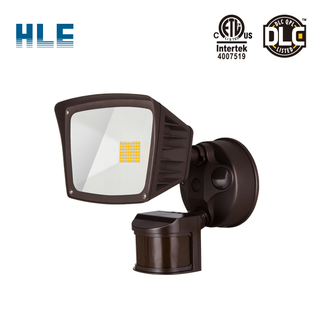 LED Outdoor Security Light, led flood light sensor pir Included Illumination for Yard, Garage, Porch, White