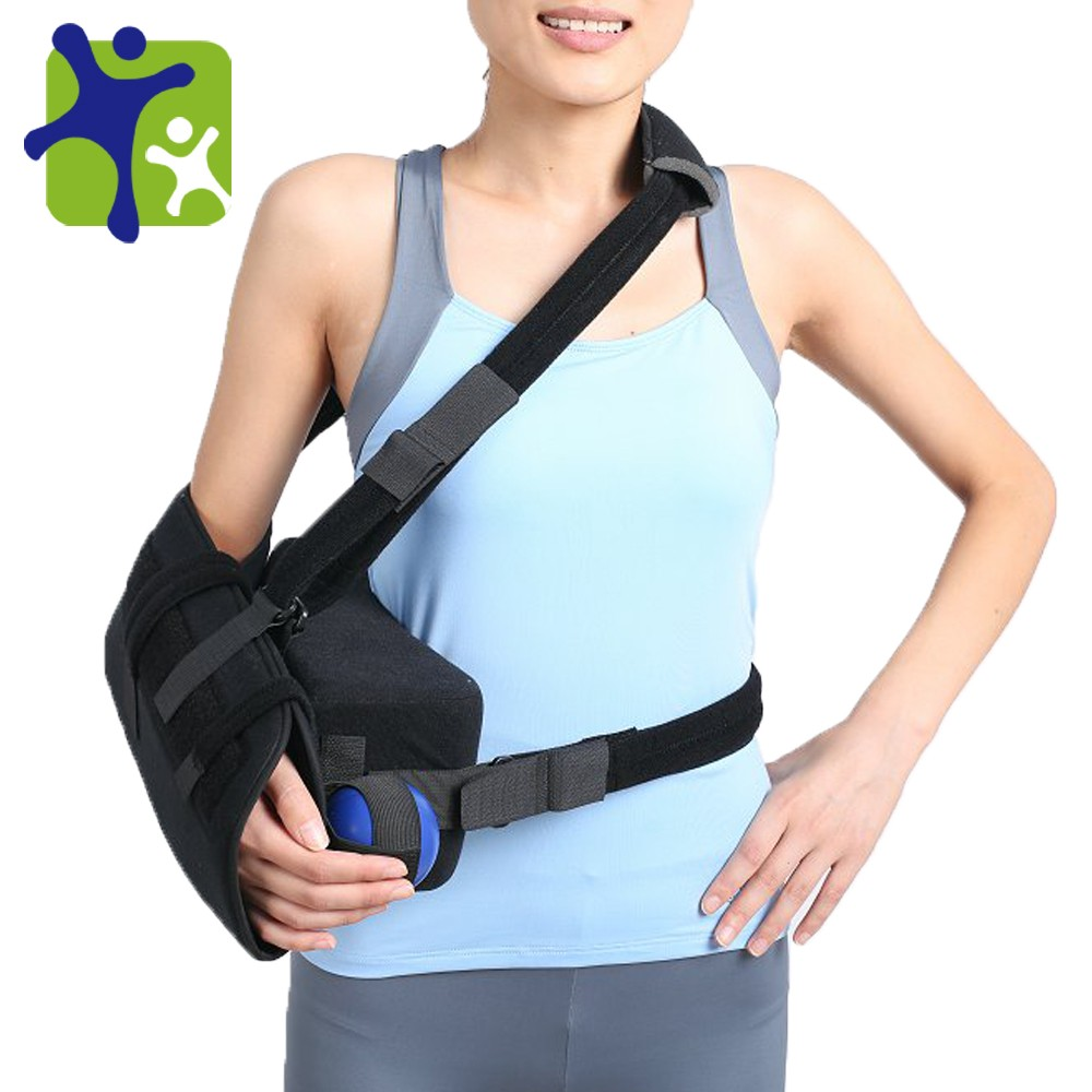 shoulder brace with pillow arm sling orthopedic arm sling with abduction pillow upper limb orthosis buy shoulder brace with pillow arm sling with