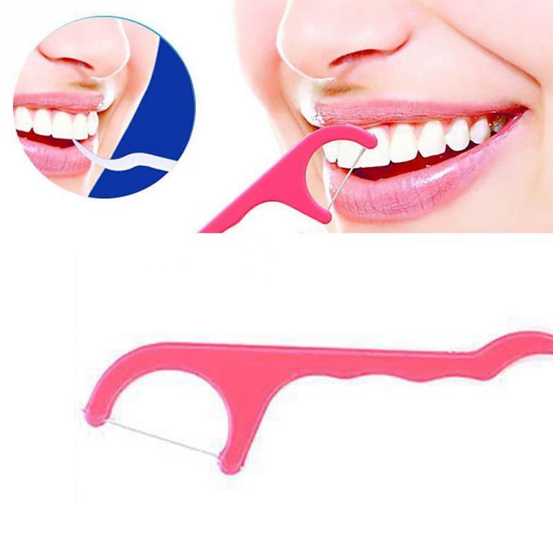Aliexpress Com Buy 50pcs Lot Toothpicks Dental Floss