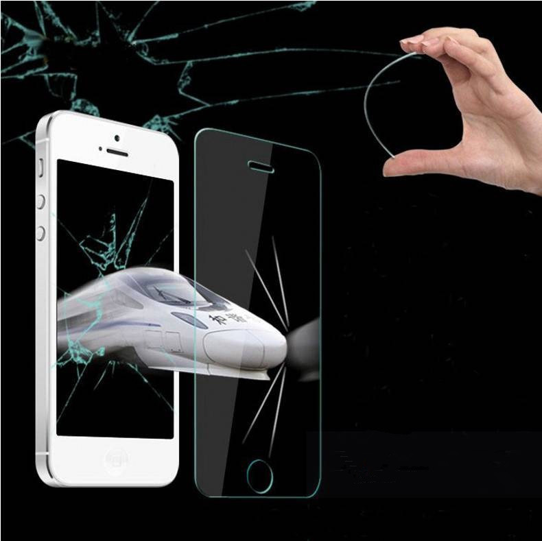 2 5D High Clear Anti scratch Resistance High Temperature Tempered Glass For Apple iPhone4 4S 4G