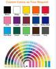 Custom Based on CMYK/Pantone Color