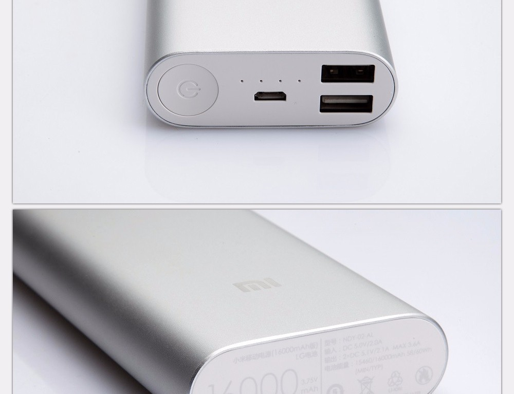 Original Xiaomi Mi 16000mah Mobile Powerbank