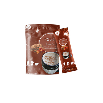Lifeworth organic caramel instant herbal chai tea powder