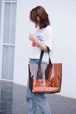 Конфетная прозрачная сумка, сумки для плавания, сумки для бассейна, пляжная сумка на плечо, спортивная сумка, 2 шт., stes sac de sport yoga fitness XA561WA(Китай)