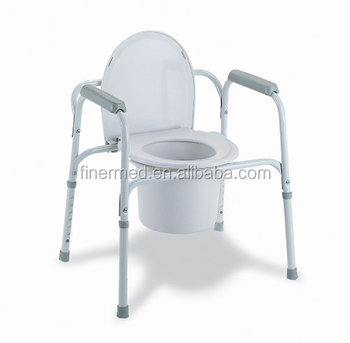 Bedside Commode Chair with Toilet Frame Seat