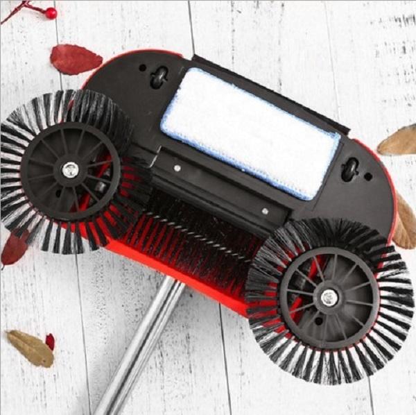 Новинка от производителя, простой домашний умный мини-Поворот на 360 градусов, беспроводная ручная нажимная щетка для пола с сопротивлением