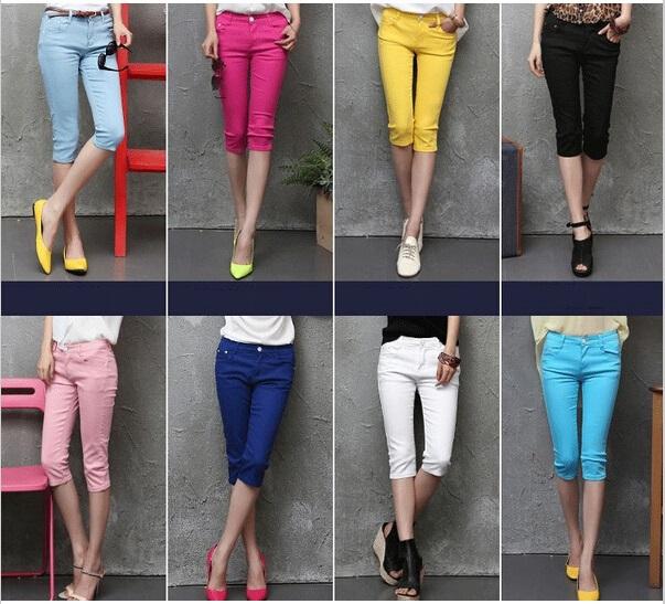 7b13ec29743 color capri pants - Pi Pants