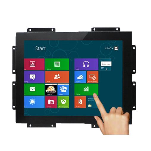 19 дюймов открытая рамка дисплея монитора с одним касанием или multi touch для торговый автомат