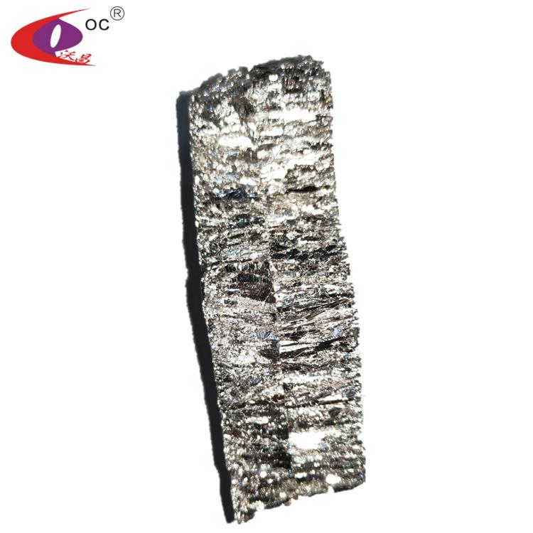 China Wholesale Pure Bismuth 1 kg Bismuth Bi Ingot Bismuth