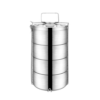 Stainless Steel Huge Capacity Insulated Tiffin Box/container Fast Food