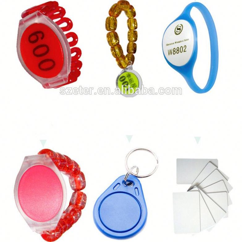 Digital Sauna RFID Wristband Key Card Rfid Locker Lock For Spa Swimming Pool Gym 126