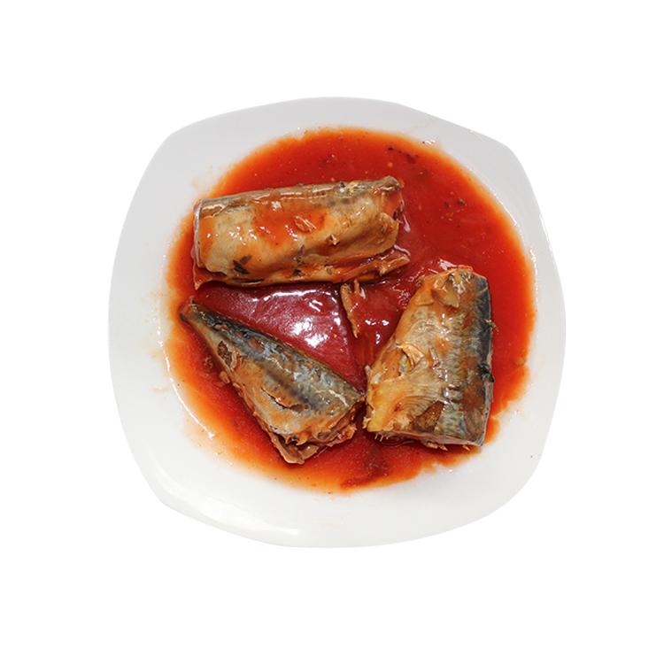 Китайская консервированная рыба скумбрия