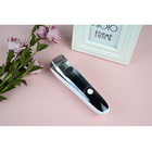 Chargeable electric trimmer auto inhale men's vacuum hair clipper