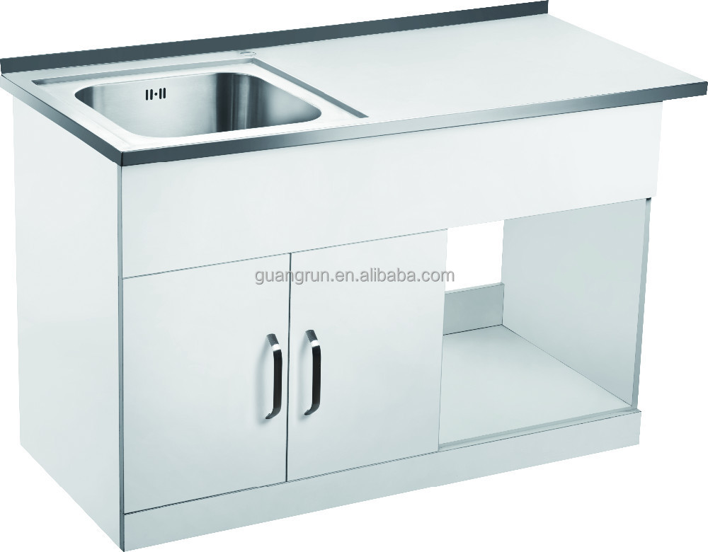 Free Standing Commercial Stainless Steel Laundry Tub Cabinet With Drainboard Gr 300a View Stainless Steel Laundry Sink Cabinet Guangrun Product Details From Ningbo Guangrun Kitchen And Bathroom Co Ltd On Alibaba Com