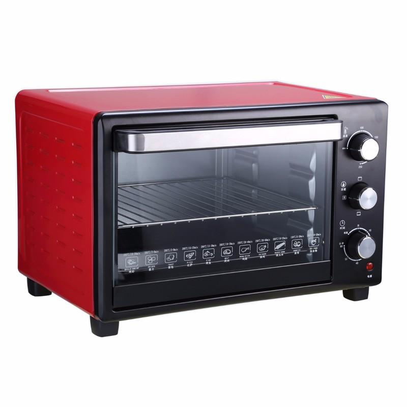 Популярная бытовая электрическая духовка-тостер 28L с CE CB RoHS