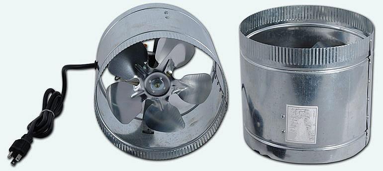 Battery Power Duct Fan Flexible Duct Fan Ventilation Duct