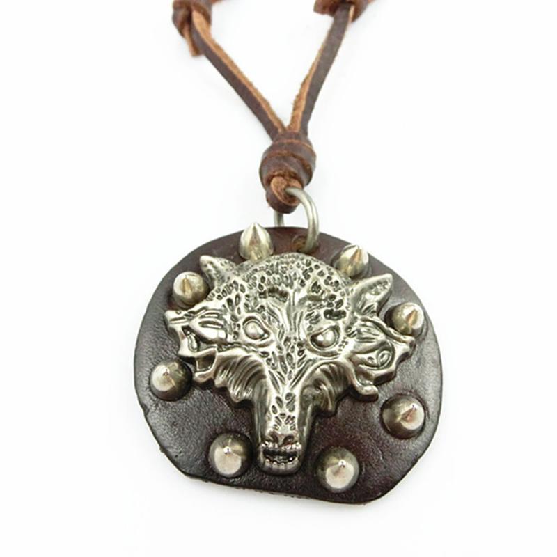 Wolf totem necklace - photo#44