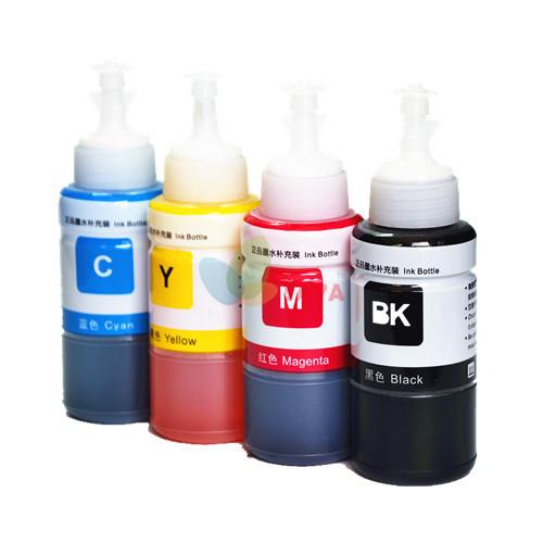 Чернила краски T6641 - T6644 картридж стержень чернила 70 мл чернила для epson l355 чернила контейнер система струйный принтер