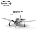 Mitsubishi A6M Zero military plane model 3D puzzle DIY metalic jigsaw free shipping best birthday gift