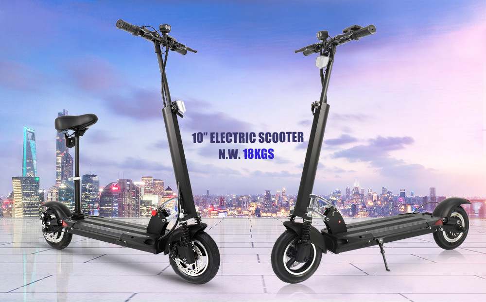 Cool electric scooter 36v 350w folding scooter best electric scooter for adults - electric scooter - 8