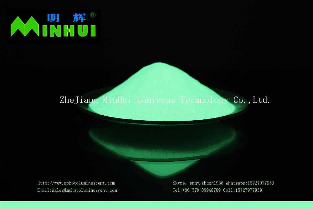 Фотолюминесцентный порошок/фотолюминесцентный пигмент/желто-зеленый светящийся в темноте пигмент