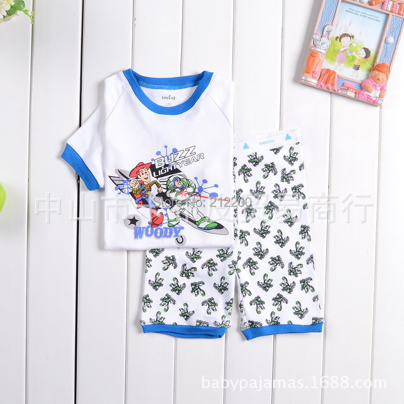 Toy Story Buzz Lightyear Children S Clothes Cotton Sets