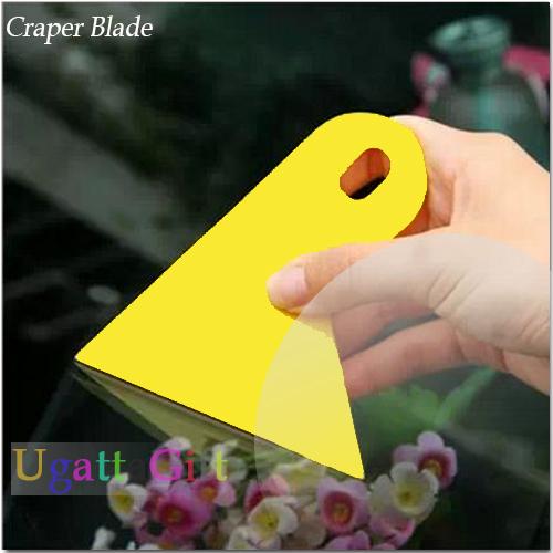 Бесплатная доставка 2 xCar гирлянда стикер scraper желтый небольшой шпатель ар наклейка рабочим инструментом diy инструменты для декорирования