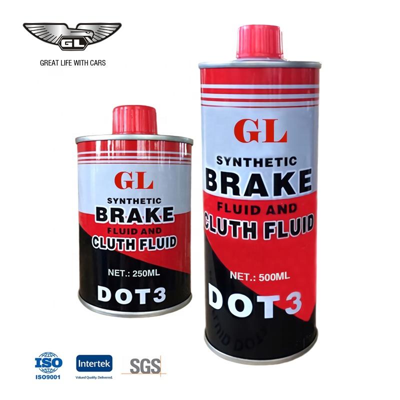 GL directly supply excellent 355ml brake fluid dot 3