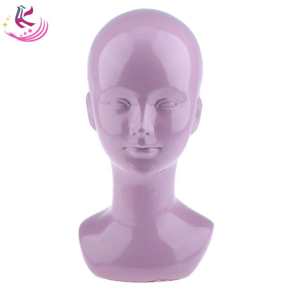 bald mannequin head wig head mannequin plastic female mannequin head