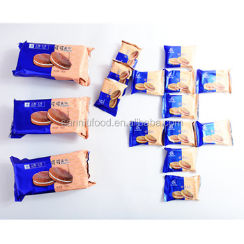 chinese wholesale chocolate sandwich biscuit manufacturer