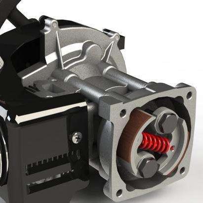 XD end tank bell intercooler end tanks cast aluminum