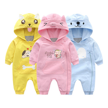 YQ65 Baby Boys Tiny Cotton Rompers Infant Girls Spring Romper 2018 New Children Jumpsuits Newborn baby Clothes
