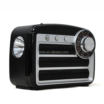 HAONING FM,AM,SW PORTABLE RADIO WITH USB,TF Card Play WITH LED FALSHLIGHT/HEADPHONE/AUX-IN Jack EL-4421UAT