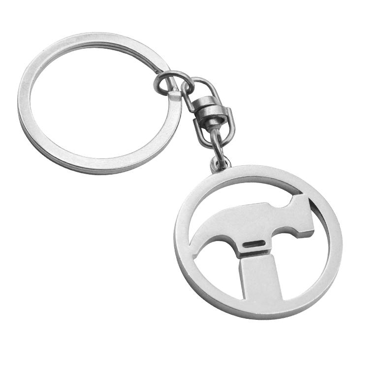Wholesale Custom Cartoon High quality Iron Man Super Man Metal Marvel keychain