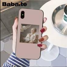 Babaite креативный коллаж художественная эстетическая картина для девочек чехол для телефона для iPhone5 5S 6 7plus 8 8Plus X XSMAX XR 11 11pro 11promax(Китай)