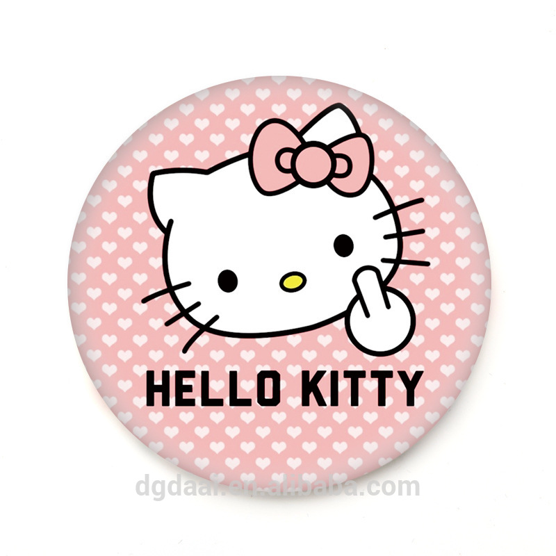 Hot Selling Hello Kitty Printed Tinplate One Way Mirror With Cosmetic Logo Buy Hello Kitty One Way Mirror Printed Tinplate Mirror Tinplate One Way Mirror With Cosmetic Logo Product On Alibaba Com